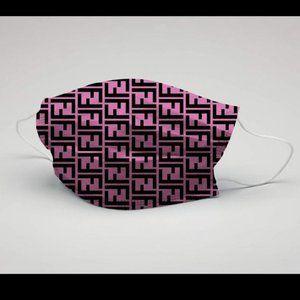Fendi 10 Pieces With Box Monogram FF Mask